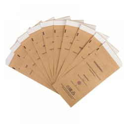 100 PCS 100X200MM DISPOSABLE STERILLIZATION BAG FOR COSMETICS NAIL TOOL DISINFECTION MACHINE ACCESSORY NY-C51335